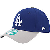 New Era Men's Los Angeles Dodgers 9Forty Royal/Grey Adjustable Hat