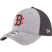 New Era Men's Boston Red Sox 39Thirty Grayed Out Grey Stretch Fit Hat