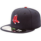New Era Men's Boston Red Sox 59Fifty Alternate Navy Authentic Hat