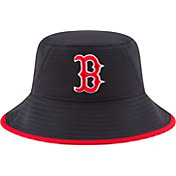 New Era Men's Boston Red Sox Navy Team Bucket Hat
