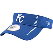 New Era Men's Kansas City Royals Royal Adjustable Speed Visor