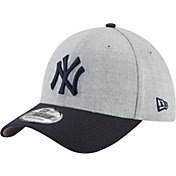 New Era Men's New York Yankees 39Thirty Change Up Redux Grey Stretch Fit Hat