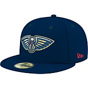 New Era Men's New Orleans Pelicans 59Fifty Navy Fitted Hat