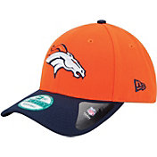 New Era Men's Denver Broncos League 9Forty Adjustable Orange Hat