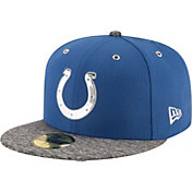 New Era Men's Indianapolis Colts 2016 NFL Draft 59Fifty Blue Fitted Hat