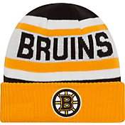 New Era Men's Boston Bruins Biggest Fan Redux Fleece Knit Hat