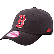 New Era Women's Boston Red Sox 9Forty Essential Navy Adjustable Hat