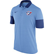 Nike Men's Toronto Blue Jays Dri-FIT Light Blue Polo