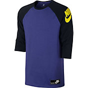 Nike Men's Sportswear Heavyweight Three Quarter Length Sleeve Shirt