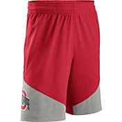 Nike Men's Ohio State Buckeyes Scarlet/Gray New Classics ELITE Basketball Shorts