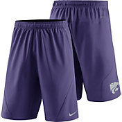 Nike Men's Kansas State Wildcats Purple Fly XL 5.0 Football Sideline Shorts