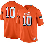 Nike Men's Oklahoma State Cowboys #10 Orange Game Football Jersey