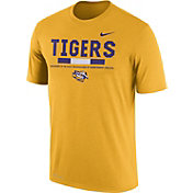Nike Men's LSU Tigers Gold Football Staff Legend T-Shirt