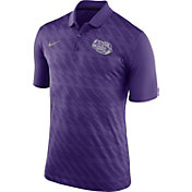 Nike Men's LSU Tigers Purple Dry Stadium Polo
