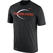 Nike Men's Oregon State Beavers Football Icon Legend Black T-Shirt