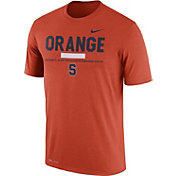 Nike Men's Syracuse Orange Football Staff Legend Orange T-Shirt