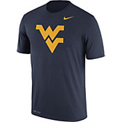 Nike Men's West Virginia Mountaineers Blue Logo Dry Legend T-Shirt