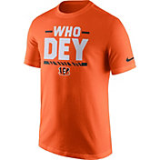 Nike Men's Cincinnati Bengals Local Verbiage Orange T-Shirt