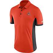 Nike Men's Cleveland Browns Evergreen Performance Orange Polo