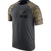 Nike Men's Detroit Lions Salute to Service 2016 Anthracite Performance T-Shirt