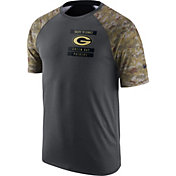 Nike Men's Green Bay Packers Salute to Service 2016 Anthracite Performance T-Shirt