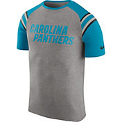 Nike Men's Carolina Panthers Enzyme Shoulder Stripe T-Shirt