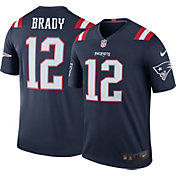 Nike Men's Color Rush New England Patriots Tom Brady #12 Legend Jersey