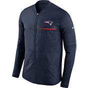 Nike Men's New England Patriots Sideline 2017 Shield Hybrid Navy Jacket