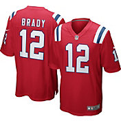 Nike Men's Alternate Game Jersey New England Patriots Tom Brady #12