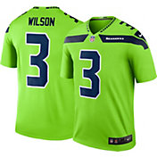 Nike Men's Color Rush Seattle Seahawks Russell Wilson #3 Legend Jersey