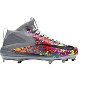 Nike Men's Force Zoom Trout 3 Mid Metal Baseball Cleats