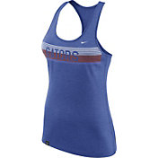 Nike Women's Florida Gators Heathered Blue Dri-FIT Touch Racerback Tank Top