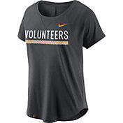 Nike Women's Tennessee Volunteers Anthracite Modern Fan 2.0 Performance T-Shirt