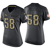Nike Women's Home Game Jersey Denver Broncos Von Miller #58 Salute to Service 2016