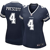 Nike Women's Away Game Jersey Dallas Cowboys Dak Prescott #4