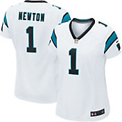 Nike Women's Away Game Jersey Carolina Panthers Cam Newton #1