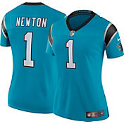 Nike Women's Color Rush Limited Jersey Carolina Panthers Cam Newton #1