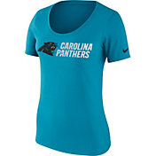 Nike Women's Carolina Panthers Lockup Blue T-Shirt