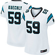Nike Women's Away Game Jersey Carolina Panthers Luke Kuechly #59