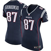 Nike Women's Home Game Jersey New England Patriots Rob Gronkowski #87