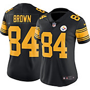 Nike Women's Color Rush Limited Jersey Pittsburgh Steelers Antonio Brown #84