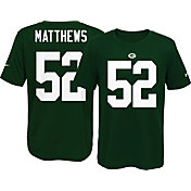 Nike Youth Green Bay Packers Clay Matthews #52 Green T-Shirt