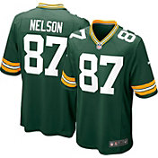 Nike Youth Home Game Jersey Green Bay Packers Jordy Nelson #87