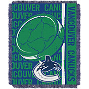 Northwest Vancouver Canucks Double Play 48 in x 60 in Jacquard Woven Throw Blanket
