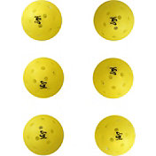 Onix Yellow Outdoor Pickleballs (6 PK)