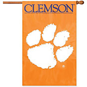 Party Animal Clemson Tigers Applique Banner Flag