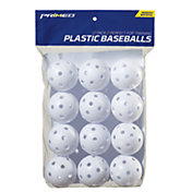 PRIMED Plastic Training Baseballs - 12 Pack