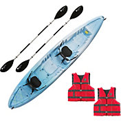 Perception Rambler 135 Tandem Kayak Package