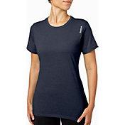 Reebok Women's Heather Crewneck Jersey T-Shirt