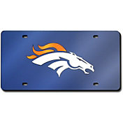 Rico Denver Broncos Navy Base Laser Tag License Plate